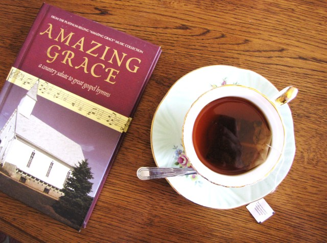 Amazing Grace Bible Verse Quiet Time Tea