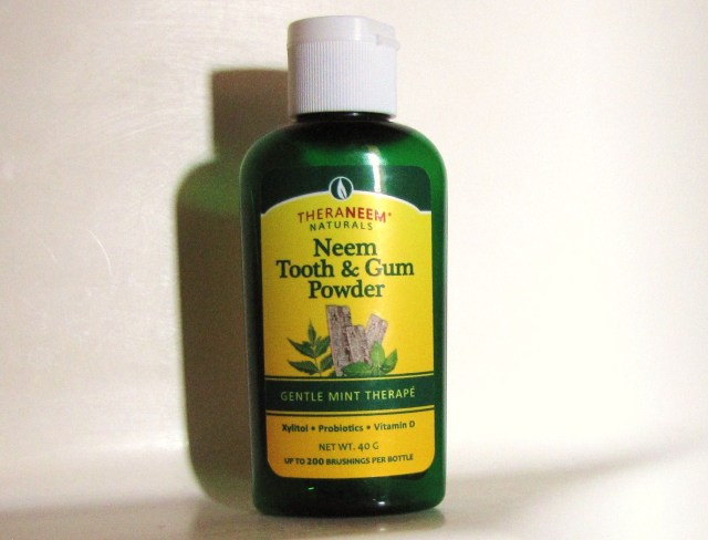 Organix South Neem Tooth Scrub Powder Foaming Probiotic Toothpaste Replacement TheraNeem Herbal Gingivitis