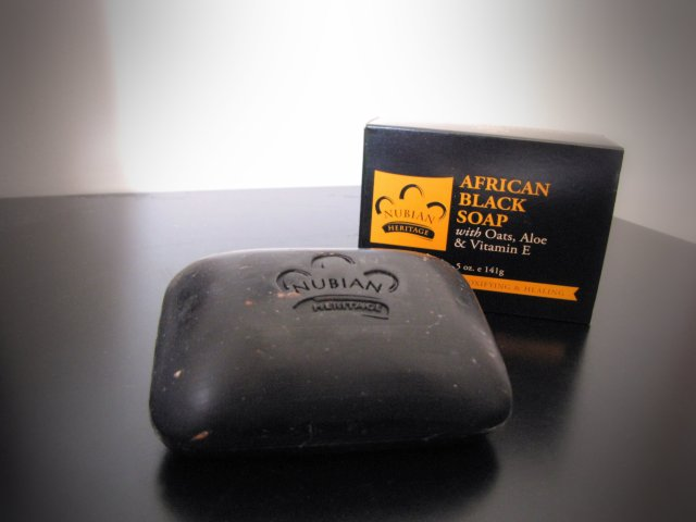 Nubian Heritage African Black Soap Traditional Natural Skin Facial Cleansing Care Anti Blemish Acne Pimple Ultimate Zit Fighter