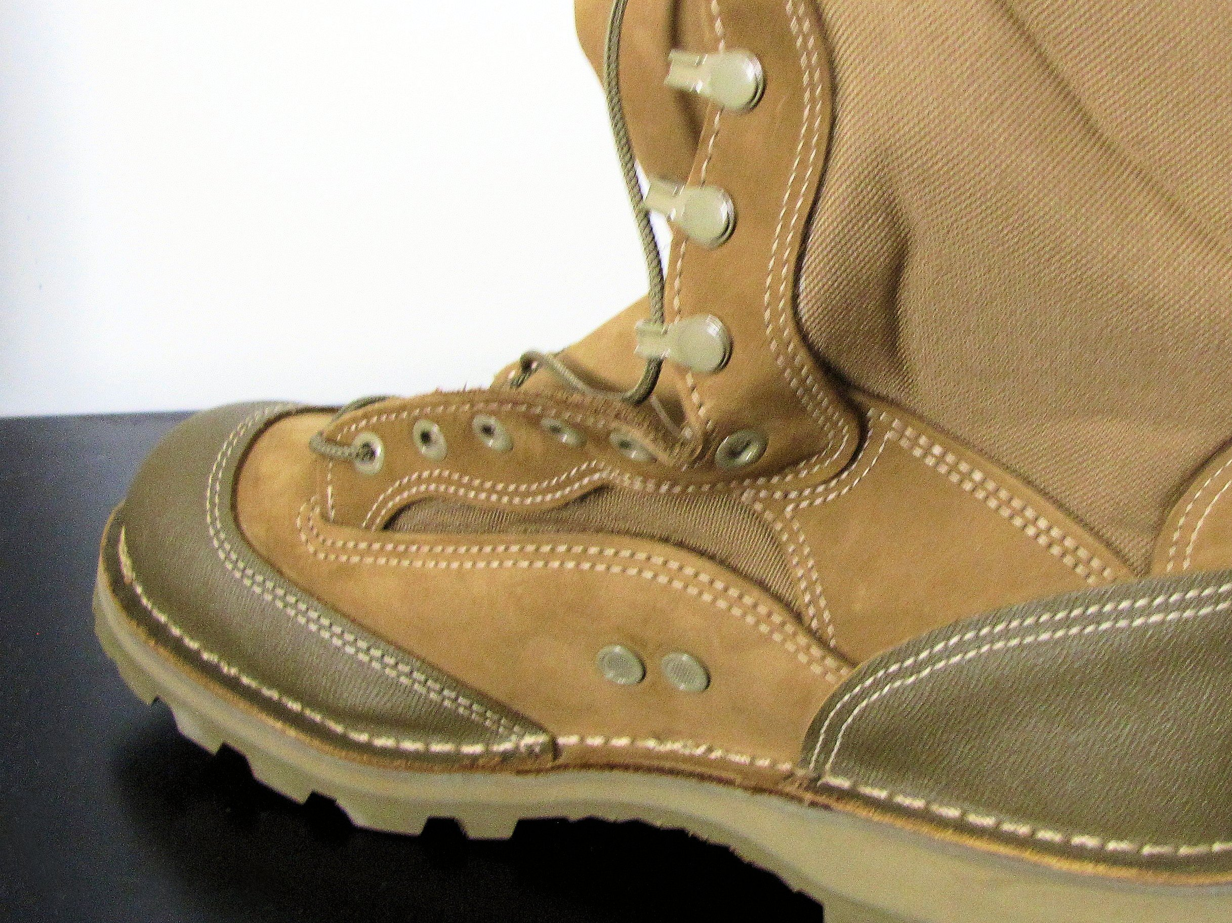 Clearanced American Made Rat Boots By Bates Brilliant Or